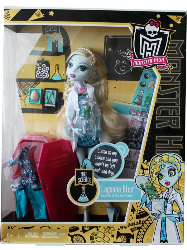 Блю из серии базовые куклы monster high