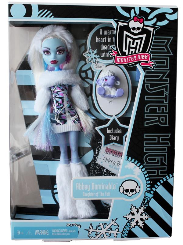 Кукла Monster High Abbey Bominable Doll. резерв. ожидается 23 декабря). эбби боминейбл монстер хай с питомцем).