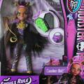 Кукла Clawdeen Wolf Ghouls Rule Monster High в маскарадном костюме